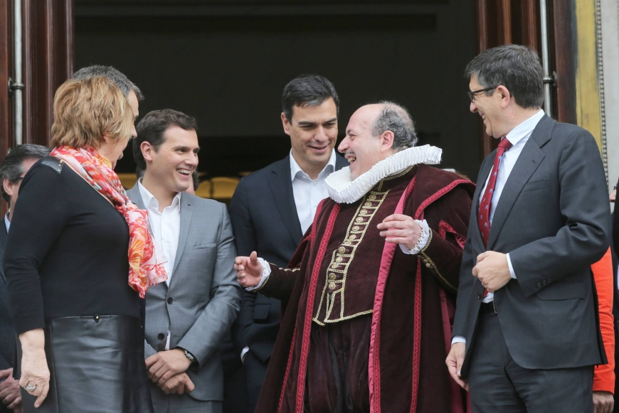 Cervantes celebrations take over Spanish Congress